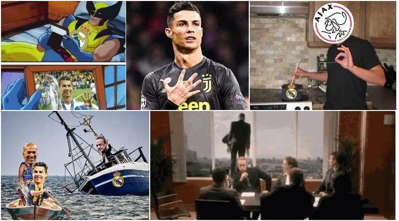 Real Madrid umiliato ed eliminato dall'Ajax: i social si scatenano