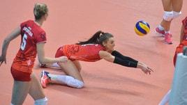Volley: Cev Cup, Busto vola in finale