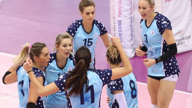 Volley: A1 Femminile, per Firenze vittoria da Play Off