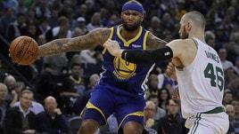 NBA: cadono le grandi a Ovest, ko Golden State e OKC