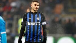 Inter-Icardi, a bassa quota l'addio a fine stagione