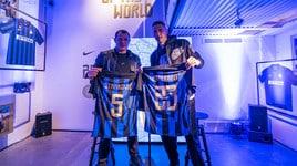 Inter, presentata la maglia mashup del derby