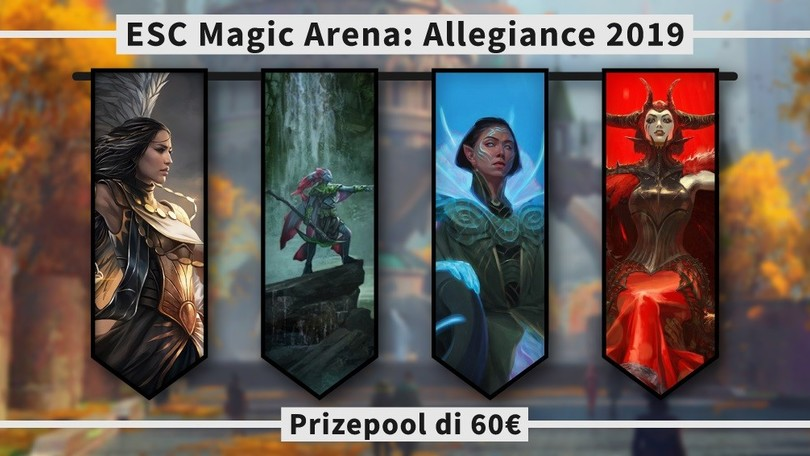 Magic Arena: arrivano i primi tornei italiani targati ESC Card Gaming