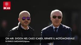 On Air: Marotta incontra Icardi, Valentino Rossi sfida Honda e Ducati