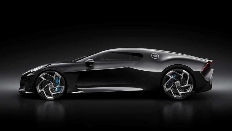 Bugatti La Voiture Noire: pezzo unico da 11 milioni di euro