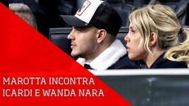 Inter, Marotta incontra Icardi e Wanda Nara