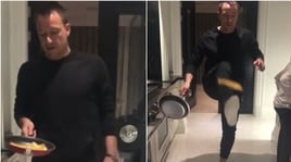 La 'Pancake Day Challenge' sfida Terry: che numeri!