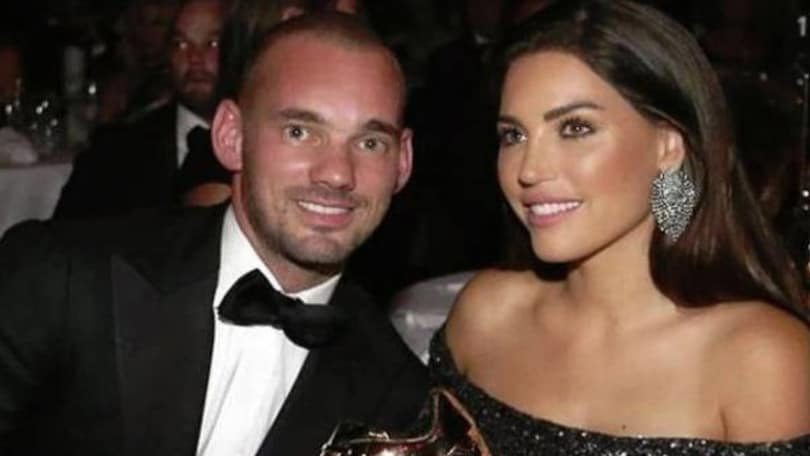 Sneijder-Yolanthe: si dicono addio