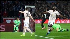 Psg-United, la papera di Buffon apre la porta a Lukaku