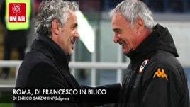 La Roma decide su Di Francesco. Bagno di folla per la Lazio
