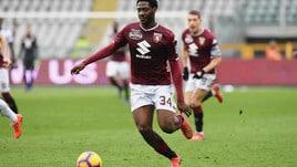 Serie A Torino, lavoro personalizzato per Ola Aina