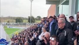 Lazio, festa con i tifosi a Formello