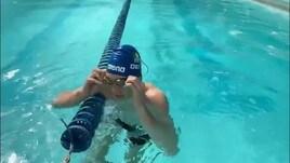 Nuoto: Manuel Bortuzzo torna in piscina