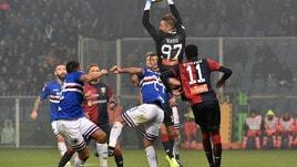 Serie A, Sampdoria-Genoa si gioca sabato 13 aprile alle 18