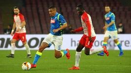 Europa League Napoli-Salisburgo 3-0, il tabellino