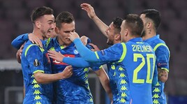 Napoli-Salisburgo 3-0: Ancelotti vede i quarti