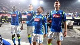 Europa League: Napoli bello di notte, che tris al Salisburgo