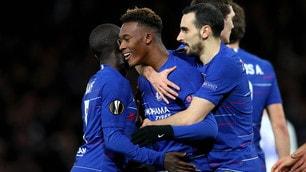 Europa League: Chelsea, tris d'assi per avvicinare i quarti