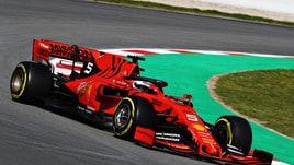 F1, Ferrari: nessuno come Vettel con il numero 5