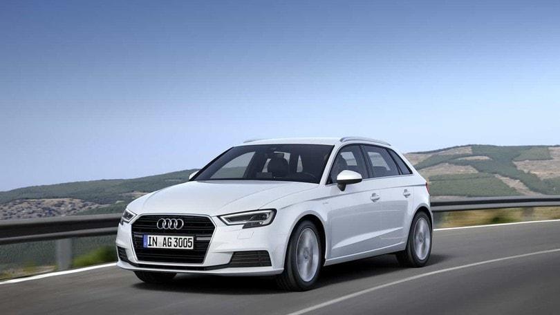 Potenza e autonomia, ecco Audi A3 Sportback g-tron