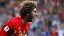 Fellaini lascia la nazionale belga. L'annuncio su Twitter