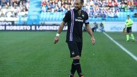Serie A Sampdoria, prove in gruppo per Quagliarella