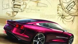 Italdesign DaVinci: le foto della concept car