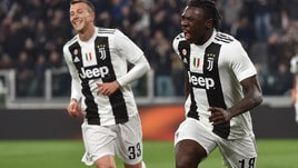 Serie A Juventus-Udinese 4-1, il tabellino