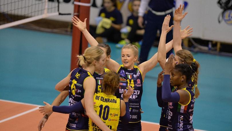 Volley: A1 Femminile, le prime della classe anticipano al sabato