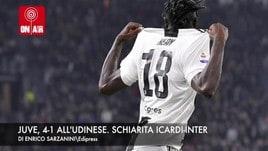 La Juve è pronta per la Champions. Schiarita Icardi-Inter