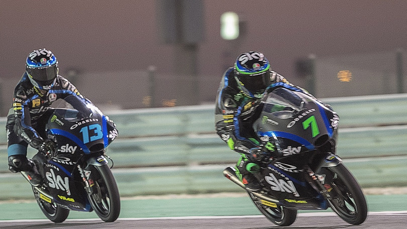 Moto3, Argentina: grande rimonta per lo Sky Racing Team