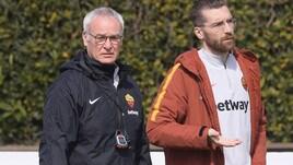 Allenamento Roma, secondo giorno in campo per Ranieri: si lavora sulla tattica