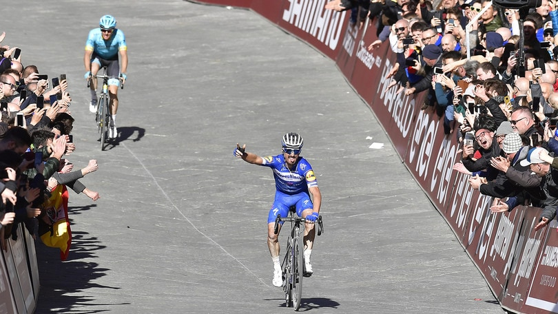 Ciclismo, Strade Bianche 2019: Trionfa Alaphilippe
