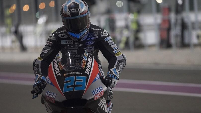 Moto2 Qatar, la pole è per Schrotter