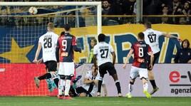 L'ex Kucka mette ko il Genoa: esulta il Parma