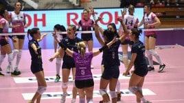 Volley: A2 Femminile, il Cus Torino travolge Caserta
