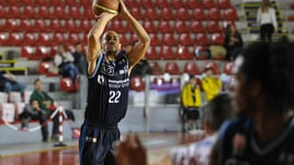 Basket Serie A2, Latina vince il derby contro Cassino: 82-104