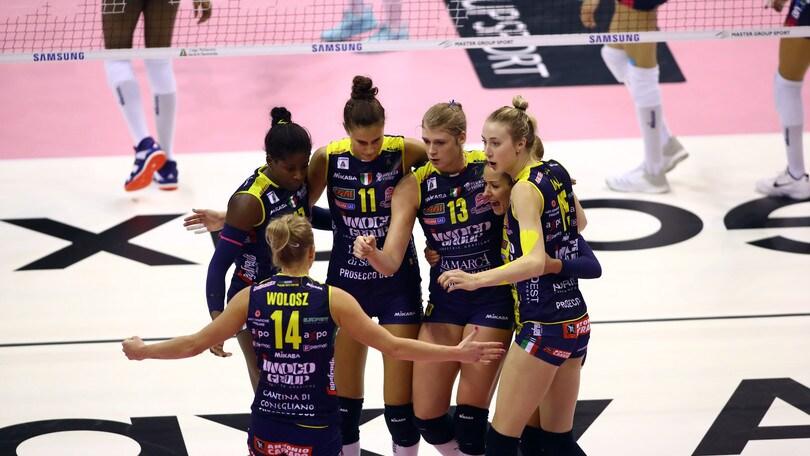 Volley: A1 Femminile, Firenze mette alle corde Conegliano che vince solo al tie break