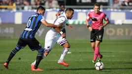 Diretta Sampdoria-Atalanta ore 15: probabili formazioni e dove vederla in tv