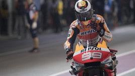 MotoGp Qatar, Lorenzo: «Qualifiche sfortunate, gara di sopravvivenza»