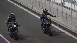 Moto2 Qatar, lo Sky Team piazza Marini quarto in griglia: «Obiettivo stare davanti»