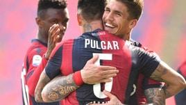 Pulgar e Soriano rilanciano il Bologna, Cagliari ko