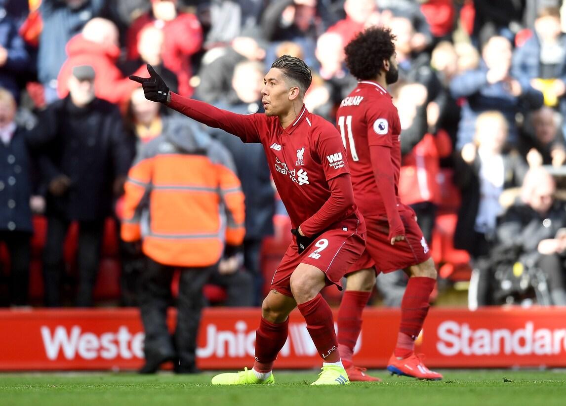 Premier League: tutto facile per il Liverpool, City di nuovo a -1