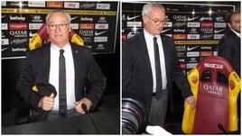 Ranieri, prima conferenza stampa alla guida della Roma