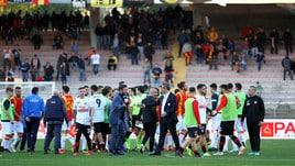 Serie B Foggia, nota del club: «Comportamenti vili e meschini»