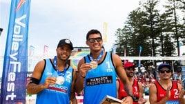 Beach Volley: a Sidney Rossi-Carambula sono d'argento