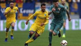 Serie A Frosinone, si ferma Gori: trauma contusivo al piede destro
