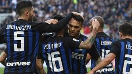 Serie A Inter-Spal 2-0, il tabellino