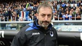 Serie A Sampdoria, Giampaolo: «La manata di Gasperini? Non ho visto nulla, la dirigenza farà il punto»