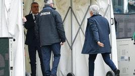 Gasperini nella bufera: manata ad un dirigente della Sampdoria
